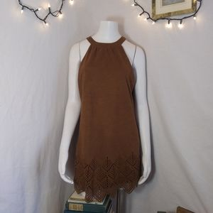Rue 21 faux suede leather medium dress